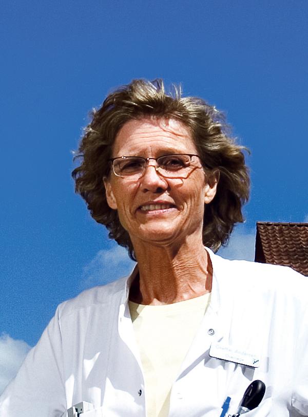 Grethe Andersen modtager Lægeforeningens ærespris