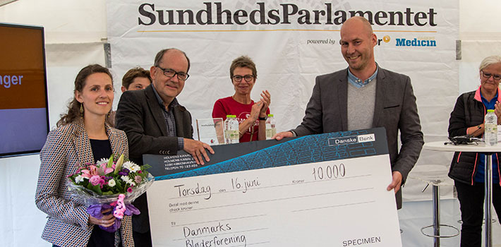 Danmarks Bløderforening vinder hovedpris for patientforeninger