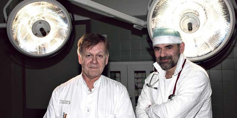 En arbejdsdag på Danmarks sidste øsygehus