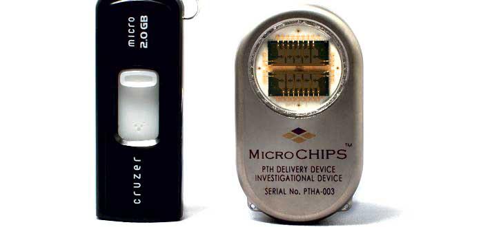 Mikrochip kan dosere medicin mod knogleskørhed