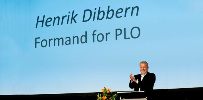 PLO-formand fik stående ovationer på stormøde
