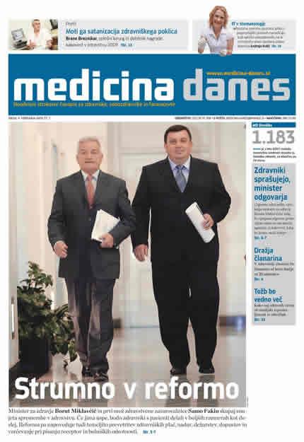 Dagens Medicin nu på slovensk
