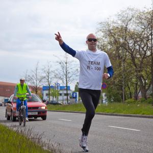 Økonomichef fejrer overskud med løbetur til Vejle