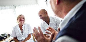 På Steno Patient Center følger alle personalegrupper samme kurs