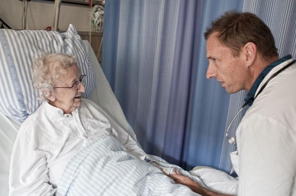 Gamle syge bliver svingdørspatienter