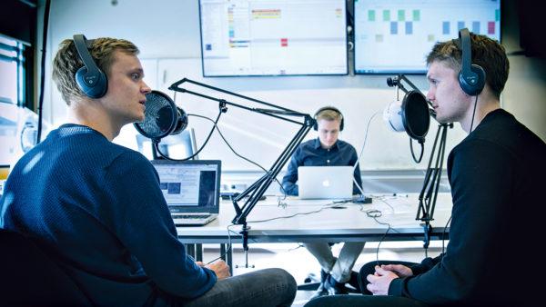 Medicinstuderende laver podcasts om sundhed
