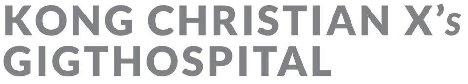 Kong Christian X's Gigthospital
