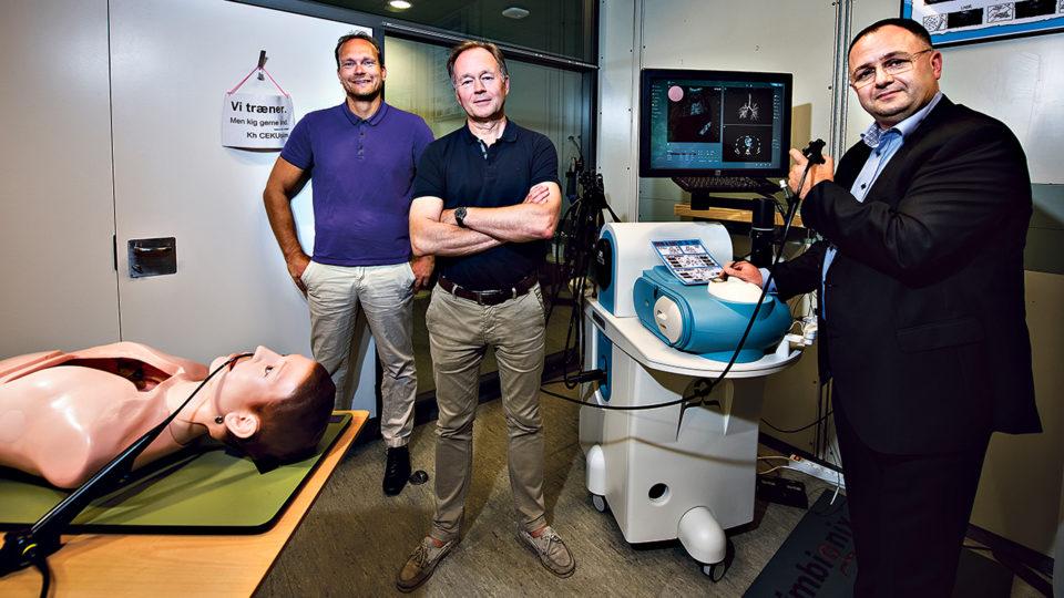Nye lungemedicinere skal uddannes gennem simulation