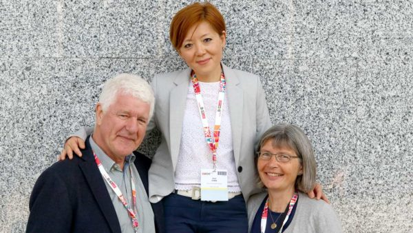 Inna Chen, Benny Vittrup og Julia S. Johansen