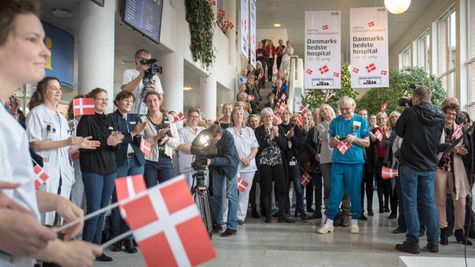 Tæt løb i toppen i kåringen af Danmarks Bedste Hospitaler