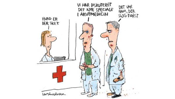 Akutmedicinere har krav på opbakning og respekt