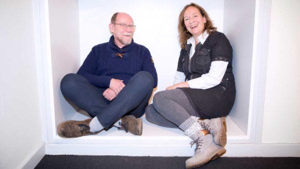Knut Borch-Johnsen og Lise Tarnow