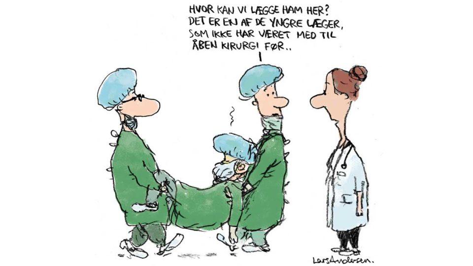 Nedsmeltning af mesterlære efterlader store huller i kirurgers uddannelse