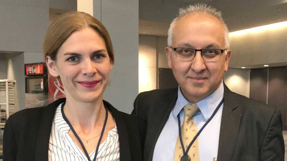 Mansoor Mirza og Maj Kamille Kjeldsen