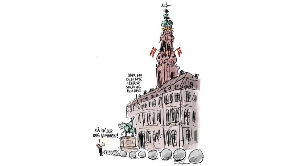 Stram ballerne på Borgen