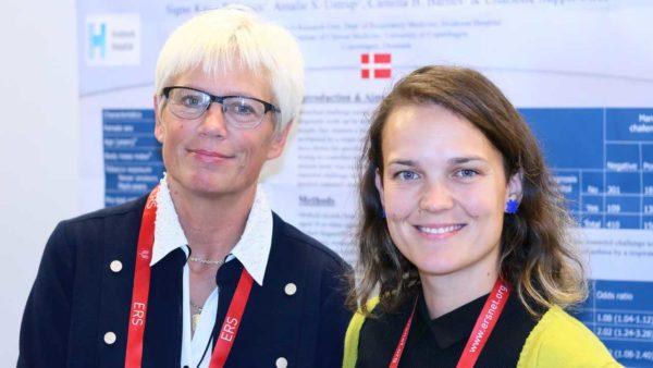 Camilla Boslev Bårnes og Charlotte Ulrik.