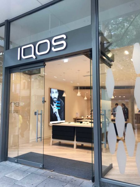 Iqos flagship-store