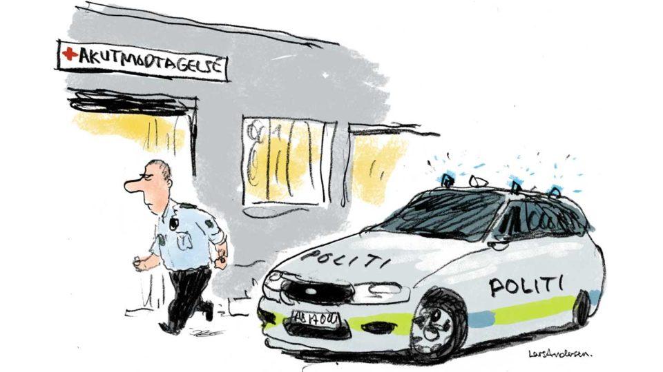 Nej, man skal ikke politianmelde læger per automatik