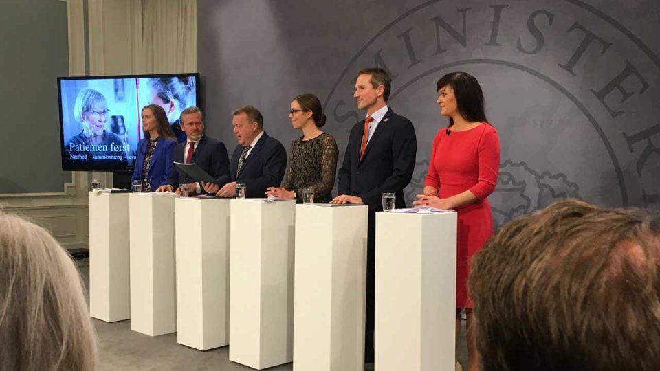 Løkkes sundhedsreform lukker regionerne og styrker almen praksis