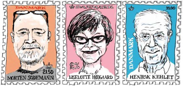 Liselotte Højgaard, Morten Sodemann, Henrik Kehlet, Rigshospitalet