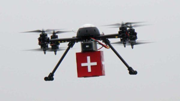 Droner skal flyve blodprøver og læger mellem sygehuse
