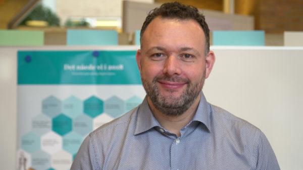 Henrik Vilsner er ny ledende overlæge