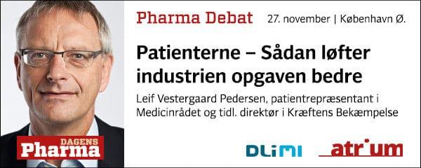 Pharma Debat #4 med Leif Vestergaard Pedersen