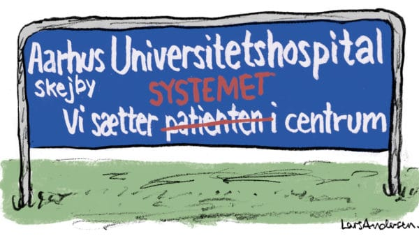 Systemets sejr – patientens tab