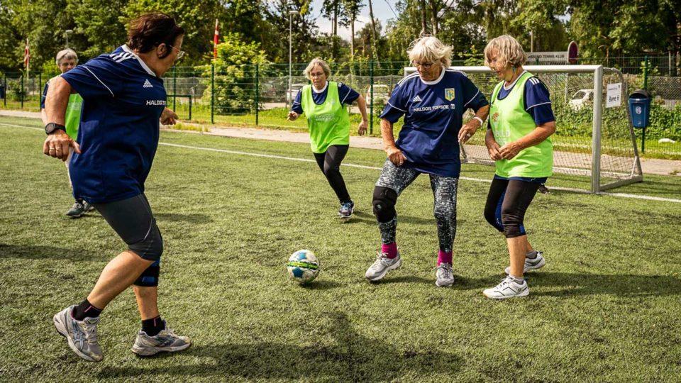Fodbold er effektiv medicin for kvinder med prædiabetes