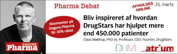 pharma debat marts 2021