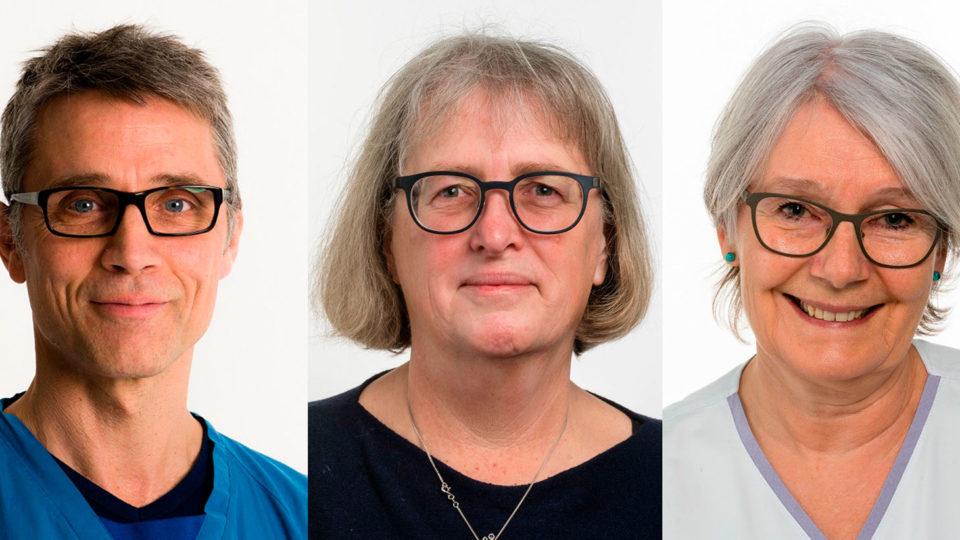 Operationsområdet på AUH får tre nye afdelingsledere