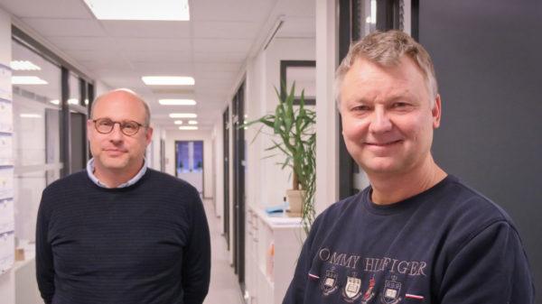 Eckart Pressel (tv.) og Jens Henning Rasmussen
