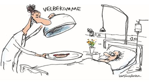 Korrekt ernæring af syge og ældre i det danske sundhedsvæsen er livsvigtig, men overses