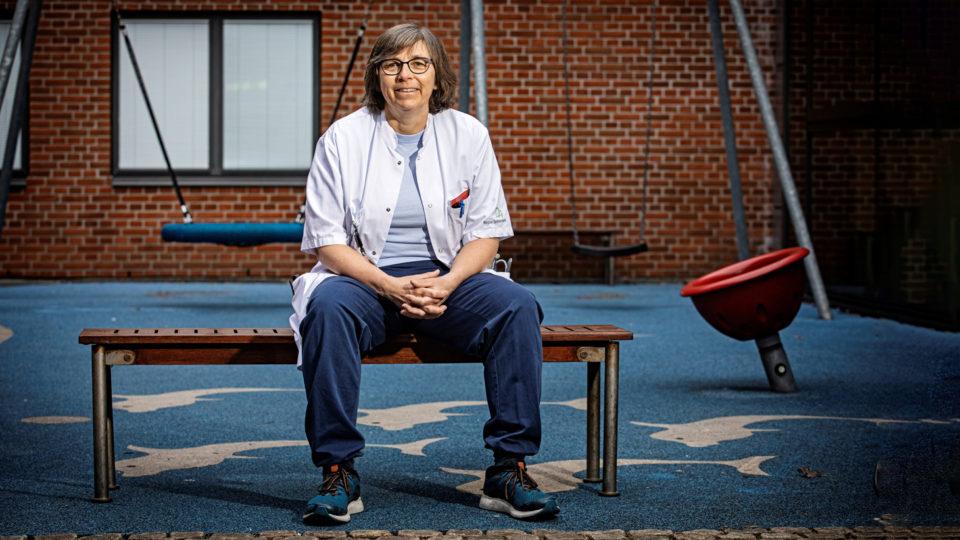 Christina Bjørn, overlæge på afdelingen for Børne- og Ungesygdomme på Sydvestjysk Sygehus, Esbjerg (1)