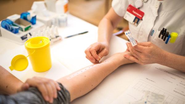 Hyppigt anvendte lægemidler ser ud til at påvirke allergipriktest