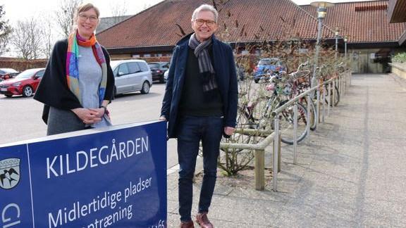 1. maj begynder Finn Rønholt som læge i Gladsaxe Kommune, hvor han skal arbejde på et pleje- og genoptræningssted med 69 midlertidige pladser.