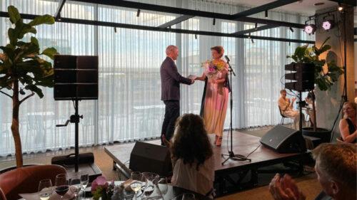Thomas Benfield tildeles Lægeforeningens Ærespris