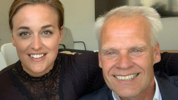 Danielle Drachmann og Jacob Sten Petersen
