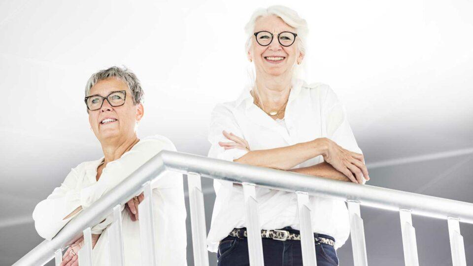 Anne Jung og Anne Frølich