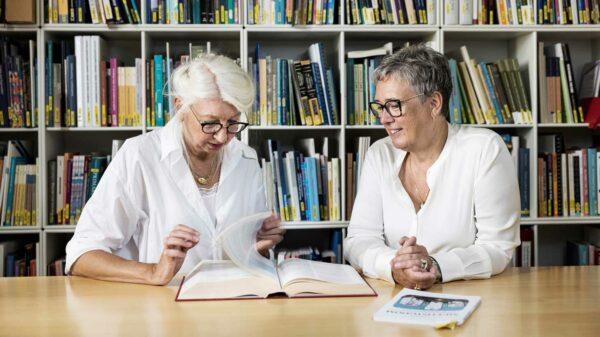 Anne Frølich (tv.) og Anne Jung