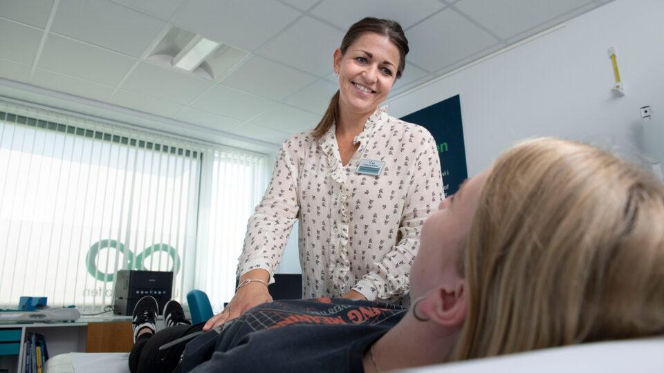 Hos Lægerne Sløjfen arbejdes der i behandlerteams