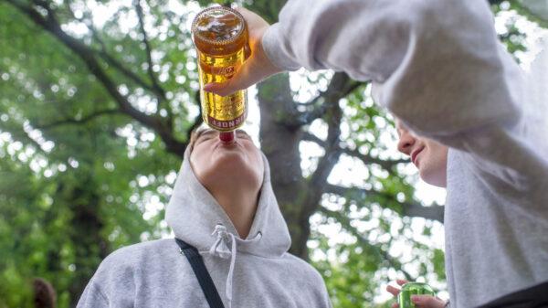 Unge og druk