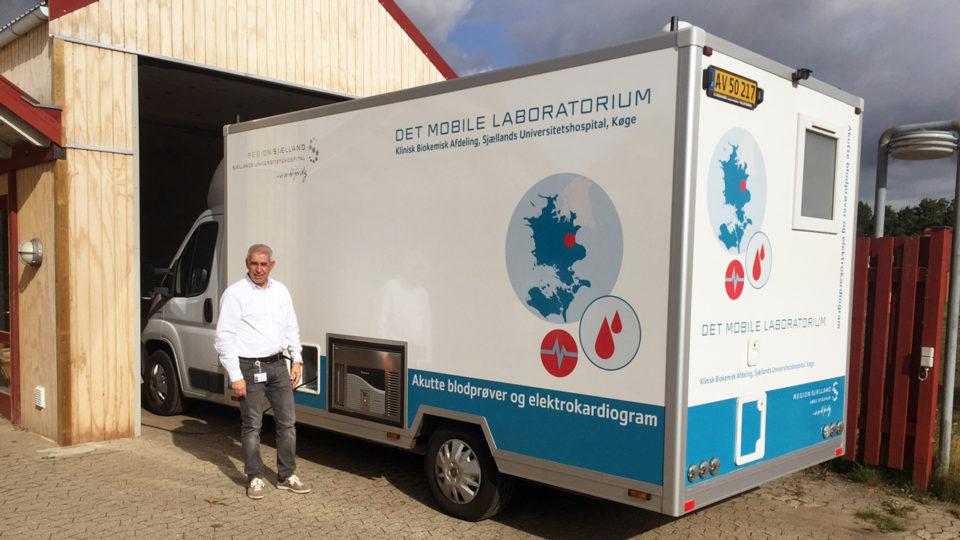Diabetesbus kører ud til sjællandske kommuner