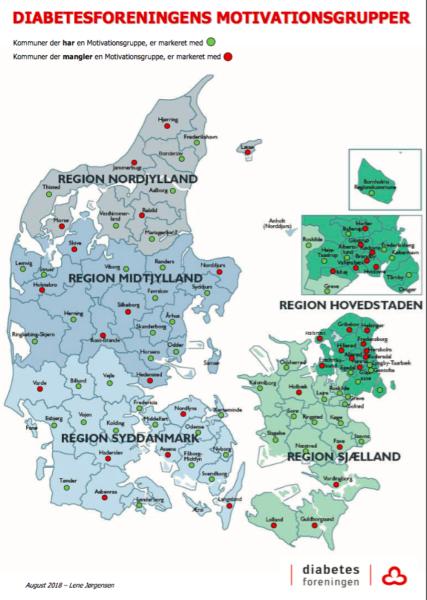 Diabetesforeningen vil dække alle danske kommuner med motivationsgrupper
