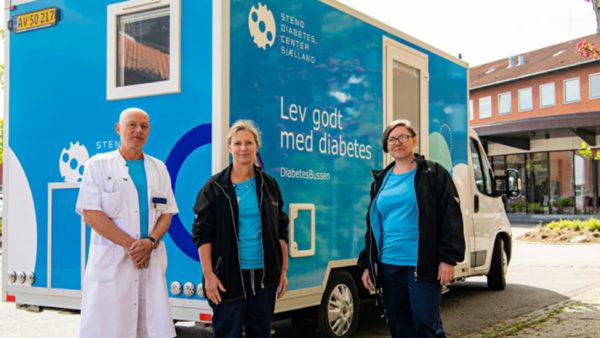 Region Sjælland har fået et diabetesambulatorium på hjul