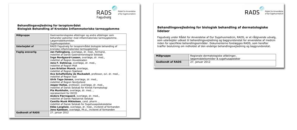 Fagudvalg undsiger ny vejledning fra RADS
