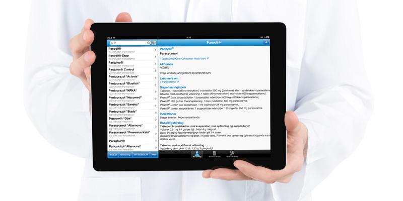 Medicin-app er nu også klar til iPads