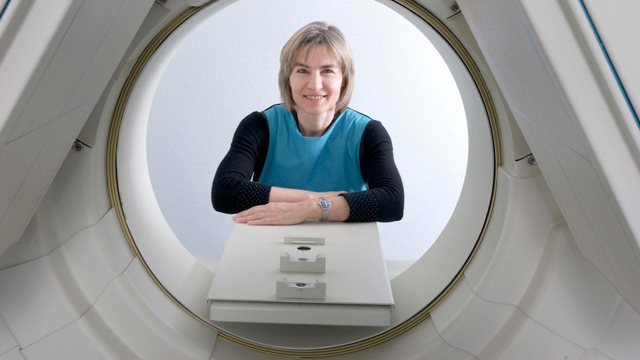 Professor Gitte Moos Knudsen.