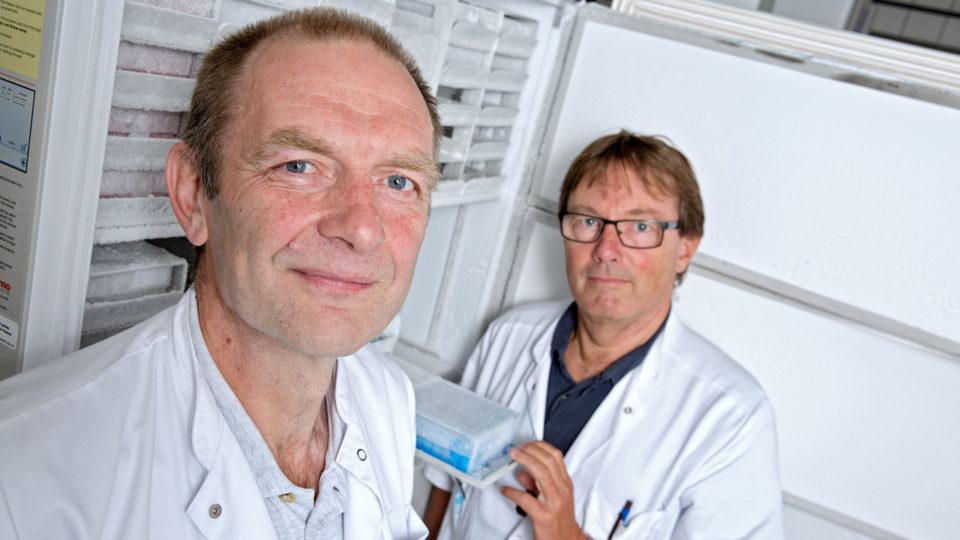 Boe Sandahl Sørensen og Peter Meldgaard