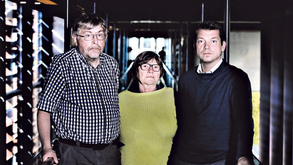 Jørn B. Christensen, Jette Kristiansen og Oliver Hendricks